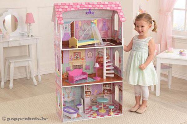 Kidkraft penelope poppenhuis for Poppenhuis meisje